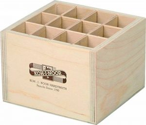 Koh-I-Noor Wooden Display 12 Compartments (120x115x86mm) de la marque Koh-I-Noor image 0 produit