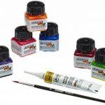 KREUL Javana 81800 Lot de 6 tubes de peinture à la soie Couleurs vives 20 ml de la marque KREUL image 1 produit