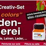 KREUL Javana 81800 Lot de 6 tubes de peinture à la soie Couleurs vives 20 ml de la marque KREUL image 2 produit