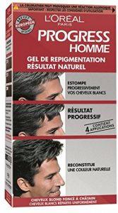 L'Oréal Paris Progress Homme Gel de Repigmentation Naturelle Coloration Cheveux Blancs de la marque L'Oréal Paris Progress Homme image 0 produit