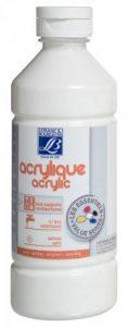 L&B ACRYLIQUE LIQUIDE EDUCATION 500ML BLANC de la marque Lefranc-Bourgeois image 0 produit