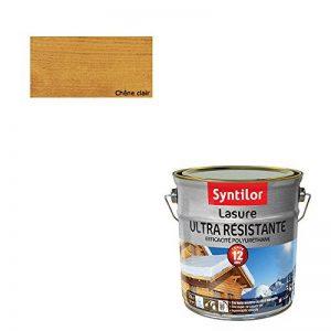 Lasure Ultra Résistante 12 Ans Chêne Clair Satiné 2,5L de la marque Syntilor image 0 produit