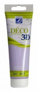 Lefranc & Bourgeois Peinture Déco 3D mat 120 ml Parme de la marque Lefranc-Bourgeois image 0 produit