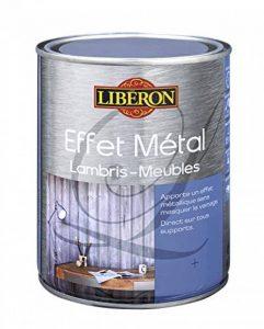 LIBERON Effet métal pour meuble et lambris, Graphite, 1L de la marque LIBERON image 0 produit