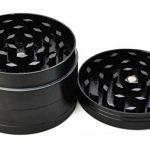 """LIHAO Grinder Garrantie à Vie, 2""""(5cm) Grinder en Zinc Alliage en 4 pièces - Noir de la marque LIHAO image 1 produit"""