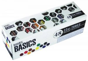 Liquitex Basics Pack de 48 Tubes de Peintures acryliques 22 ml Assortis de la marque Liquitex image 0 produit