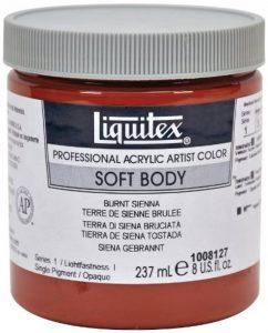 Liquitex Professional Soft Body Pot de Peinture acrylique fluide 237 ml Terre de sienne brûlée de la marque Liquitex image 0 produit