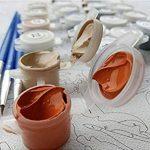 LISHIHAOZY Peinture Au Numéro Animaux De Loup Et d'aigle Bricolage Peinture sur Toile Acrylique Colorant Painitng pour LaDécorationMurale de la marque LISHIHAOZY image 4 produit