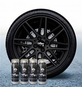 Lot de 4 Sprays Full Dip Vinyles liquides Noir métallisés Mat pelable 400 ml de la marque Sophisticauto image 0 produit