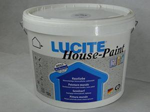 LUCITE house-paint bac universel fassadenfarbe blanc satiné de la marque LUCITE image 0 produit