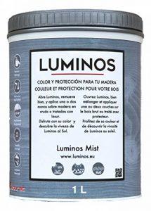 Luminos LUM1101 - MIST - Lasure Protecteur bois. Couleur Gris Brume. 1L de la marque Luminos image 0 produit