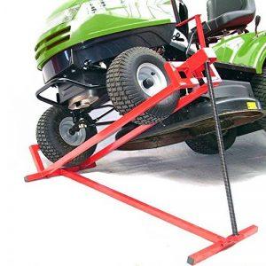 Lève-tondeuse Tracteur-tondeuse Dispositif de levage Cric Aide au nettoyage de la marque Arebos image 0 produit