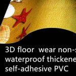 lxsart Revêtement de sol 3D Carrelage mosaïque pierre chambre salon cuisine autocollant papier peint 3D imperméable pour le sol-400cmx280cm de la marque Lxsart image 3 produit