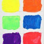 Magi Neon Couleur Kit Fluo avec 6x 75ML de Peinture Acrylique en Jaune Fluo–Vert,–Orange,–Rose,–Bleu et–Purple de la marque Magi image 1 produit