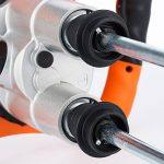 Malaxeur mélangeur professionnel 1900W Béton Peinture Tout Travaux Double Batteur agitateur mortier de la marque Deuba image 3 produit