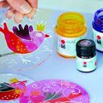 Marabu 070 Peinture pour vitrail Blanc 50ml de la marque Marabu image 1 produit