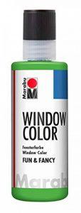 Marabu Pochoir Motif 06280ml peinture Fun et Fancy, vert clair de la marque Marabu image 0 produit