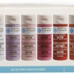 Martha Stewart Crafts Multi-Surfaces satiné Acrylique Craft Ensemble de Peinture, 32187 (10 Couleurs) de la marque Martha-Stewart-Crafts image 1 produit
