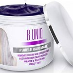 Masque Capillaire Violet B Uniq | Soin Professionnel pour Cheveux Blonds et Gris | Conditionneur Nourrissant Réparateur et Protecteur sans Sulfate pour Cheveux Secs, Abîmés et Décolorés | 215 ml de la marque Simply-Beautiful image 1 produit