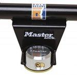 Master Lock 1488EURDAT Barre de sécurité pour porte de garage basculante avec serrure à clé (antivol pour porte de garage) de la marque Master-Lock image 2 produit