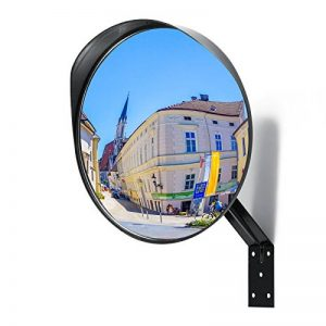 Miroir convexe Premium - Miroir de sécurité incurvé réglable de 30 cm pour l'intérieur et l'extérieur - Étend votre champ de vision pour augmenter la sécurité de la marque NOVAATO image 0 produit