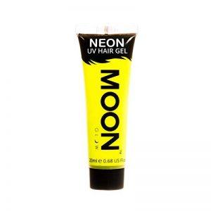 Moon Glow – Gel fluo UV pour les cheveux. 20 ml Intense Jaune - Pour des crêtes fluorescentes ! de la marque Moon-Glow image 0 produit