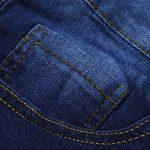 MORCHAN ❤ Femmes Broderie Skinny Crayon Jeans Denim Stretch Slim Fitness Pantalons Pantalons Combinaisons Pantalon Court Collants Leggings Knickerbockers de la marque MORCHAN image 4 produit