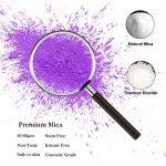 MOSUO Pigments Poudre de Mica, 25 Couleurs Colorant de Savon(5g), Pigment Resine Epoxy Pailletées Naturel Minerale pour Bougies, savons, Boules de Bain, cosmetiques, Vernis à Ongles et Peinture de la marque MOSUO image 2 produit