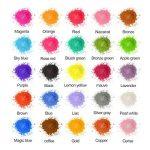 MOSUO Pigments Poudre de Mica, 25 Couleurs Colorant de Savon(5g), Pigment Resine Epoxy Pailletées Naturel Minerale pour Bougies, savons, Boules de Bain, cosmetiques, Vernis à Ongles et Peinture de la marque MOSUO image 1 produit