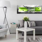 murando Impression sur Toile Abstrait 150x50 cm Tableau Tableaux Decoration Murale Photo Image Artistique Photographie Graphique 1 Partie Gris Vert a-A-0344-b-b de la marque murando image 1 produit