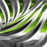 murando Impression sur Toile Abstrait 150x50 cm Tableau Tableaux Decoration Murale Photo Image Artistique Photographie Graphique 1 Partie Gris Vert a-A-0344-b-b de la marque murando image 4 produit