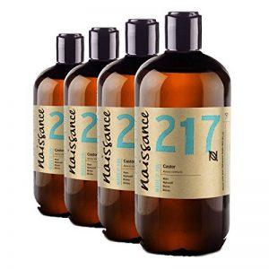 Naissance Huile de Ricin (n° 217) Pressée à froid - 2 litres (2 x1L) – 100% pure, végan, sans hexane, sans OGM de la marque Naissance image 0 produit