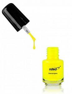 nded vernis estampillage Néon jaune | 5 ml de la marque Nded image 0 produit