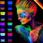 neon nights 8 x Peinture Corporelle-UV Maquillage Fluo Pour Lumière Noire de la marque neon-nights image 1 produit