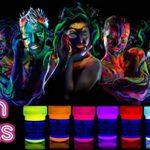 neon nights 8 x Peinture Corporelle-UV Maquillage Fluo Pour Lumière Noire de la marque neon-nights image 3 produit