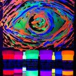 neon nights 8 x Peinture UV Fluorescente Pour Lumière Noire de la marque neon nights image 2 produit