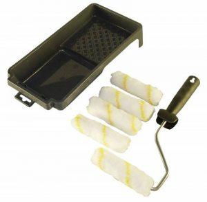 NESPOLI Kit Mini Rouleau avec 4 Recharges et un Bac à Peinture de la marque NESPOLI image 0 produit