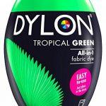 Nouveau Dylon Vert Tropical Machine Colorant écosser 350g 2 pack de la marque D ylon image 1 produit