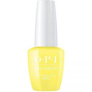OPI GelColor Vernis à ongles gel Pastel 'besoin Lunettes de soleil?' Professional [15ml] de la marque O.P.I. Gelcolor image 0 produit