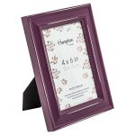 Pal301946a Paloma Cadre photo 10,2x 15,2cm (10x 15cm) Violet aubergine Bordeaux Finition peinture Bois vieilli. Dos Drop in avec clips pivotants. 30mm de large Country Style shabby chic Motif de la marque Hampton-Frames image 1 produit