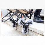 Panier d'achat Peinture Outil Chariot/Multi-fonction Peinture Voiture/Acier Pipe Art Chariot Voiture/Pliant Escaliers Escalade Chariot/Avec Siège Peinture Sac Voiture/Art Car (Couleur : 1) de la marque PY Ⓡ Panier d'achat image 3 produit
