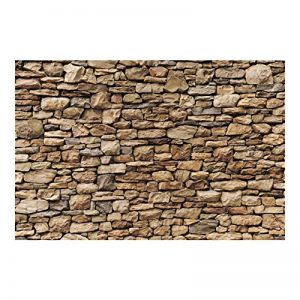 Papier peint intissé - Top fond d'écran mur de pierre - Mural Large papier peint photo intissé tableau mural XXL photo 3D mural, 320cm x 480cm; Motif: américain Stonewall de la marque Bilderwelten image 0 produit