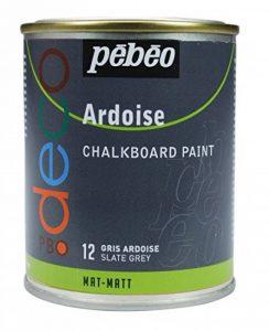 Pébéo 093512 Déco Acrylique Ardoise 1 Boîte Métal Gris Ardoise 250 ml de la marque Pébéo image 0 produit