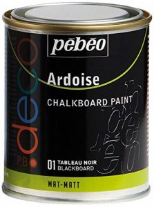 Pébéo 28654 Peinture Ardoise Tableau Marquage 72 Heures Après Séchage Tous Supports Pot Métal 250ml Assorties de la marque Pébéo image 0 produit