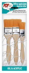 Pébéo 950550 Pochette de 3 Spalters Manche Longue Polyamide Doré de la marque Pébéo image 0 produit
