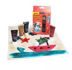 Pébéo Kit découverte peinture paillettes 6 tubes de 20 ml Assorties de la marque Pébéo image 0 produit