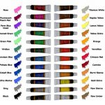 Peinture acrylique 24 set Crafts 4 All pour papier, toile, bois, céramique, tissus et artisanaux.Non toxique et vibrantes.Pigments riches et durables - pour débutants, étudiants et professionnels. de la marque Crafts 4 ALL® image 1 produit