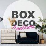 Peinture acrylique aspect velours Aqua bois - Meuble bois - Kit outillages peinture - 34 couleurs - 4 m² (Lin) de la marque BOX-DECO-COULEURS image 3 produit