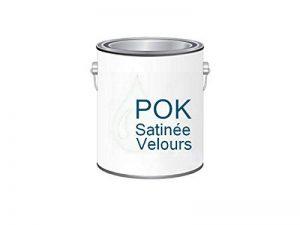 Peinture Acrylique pour murs Satin Lessivable - Blanc Grisé - POK SATIN - 2,5 L - 10m²/L de la marque Pok image 0 produit