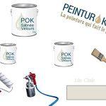 Peinture Acrylique pour murs Satin Lessivable - Lin Clair - POK SATIN - 5 L + BAC OFFERT de la marque Pok image 2 produit